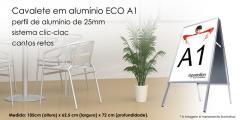 Cavalete em Alumínio ECO A1