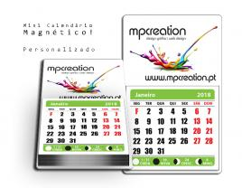 Calendários Magnéticos Personalizados