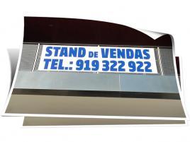 Lona em PVC personalizada com impressão digital.